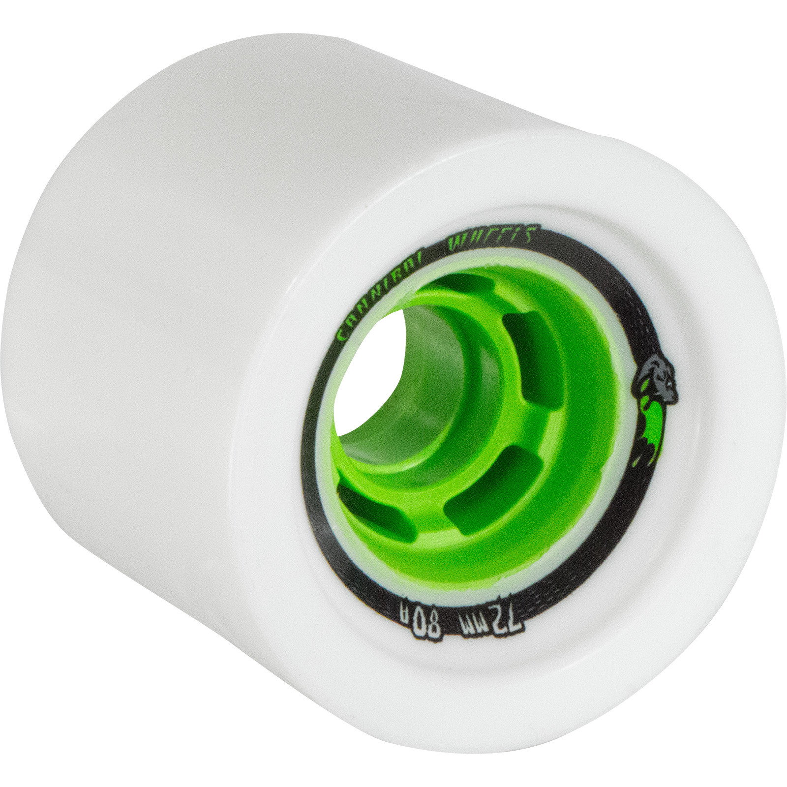 Venom Cannibal Cobra Core White   Green Longboard Skateboard Wheels – 72mm  80a. News.    868fb4615d6